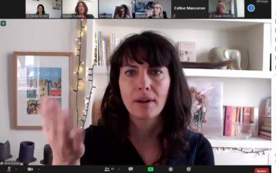Les femmes chefs d'entreprise se retrouvent autour de l'humoriste Olivia Moore